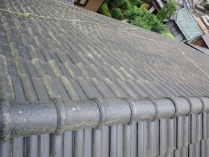 屋根シーラー施工