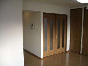 寝室入口②