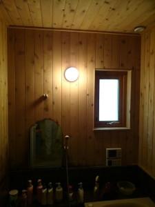 改修前浴室