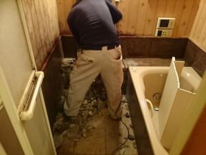 解体時浴室