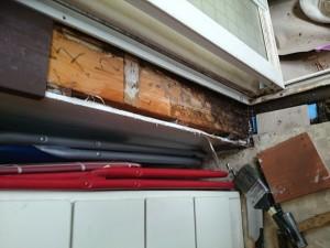 浴室入口枠白蟻被害
