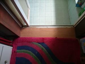 浴室入口枠交換